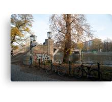 berlin river Canvas Print