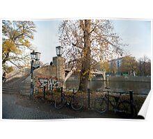 berlin river Poster