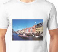 Nyhavn, Denmark Unisex T-Shirt