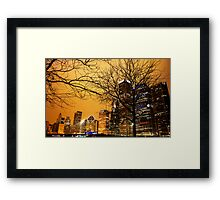 My Kind Of Town  Framed Print