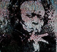 Miles Davis Black Portrait by amillusions
