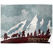 The fellowship of the ring Poster