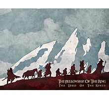 The fellowship of the ring Photographic Print