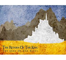 The Return of the King Photographic Print