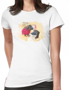 Does it make me look fat? Womens Fitted T-Shirt