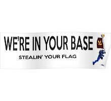 Flag Stolen Poster