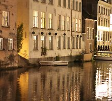 Light and Water, Ghent, Belgium by shoelock