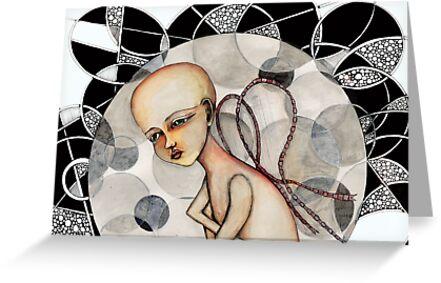 In a bubble by Jenny Wood