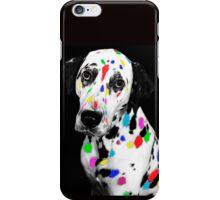 Multi-coloured Dalmatian iPhone Case/Skin