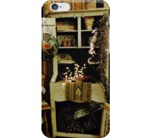 Country Christmas decor iPhone Case/Skin
