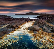 Fingal Bay - Rocks 3 by Michael Howard