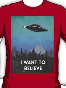 I want to believe UFO2 T-Shirt