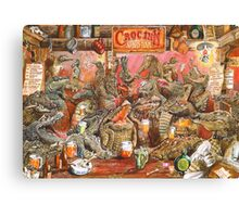 Crocodile Bar! Canvas Print