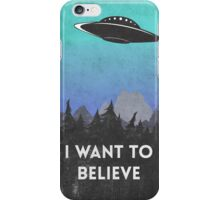 I want to believe UFO2 iPhone Case/Skin