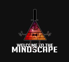 Welcome to The Mindscape -Burning Unisex T-Shirt