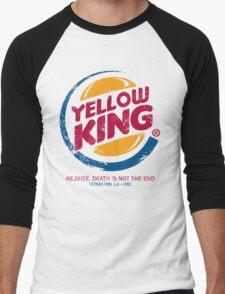 The Yellow King Men's Baseball ¾ T-Shirt