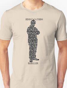 John Watson: Blogger T-Shirt