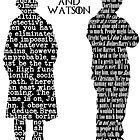 Sherlock and John. by mysterytree
