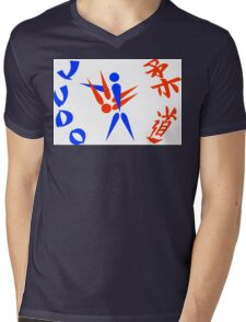 judo Mens V-Neck T-Shirt