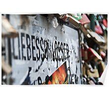 Love locks (Liebesschlösser) Poster