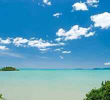 tropical waters by photoeverywhere