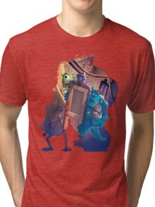 Monsters Inc ~ Doors! Tri-blend T-Shirt