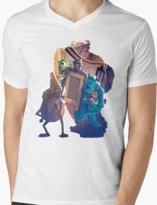 Monsters Inc ~ Doors! Mens V-Neck T-Shirt