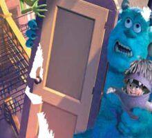 Monsters Inc ~ Doors! Sticker