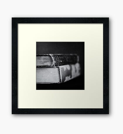 Volumes Framed Print