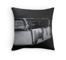 Volumes Throw Pillow