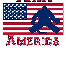 Hockey American Flag Team America by kwg2200