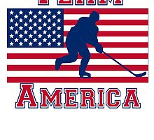 Hockey Goalie American Flag Team America by kwg2200