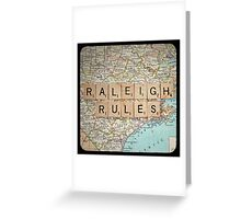 Raleigh Rules Greeting Card