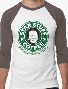 Star Stuff Coffee Men's Baseball ¾ T-Shirt