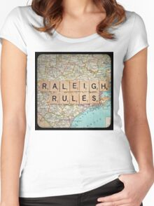 Raleigh Rules Women's Fitted Scoop T-Shirt