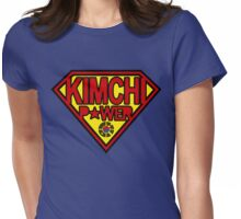 Kimchi Power Womens Fitted T-Shirt