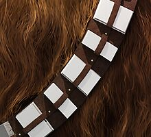 Star Wars - Chewie Wookie Utility Belt - Gold Edition by TrendSpotter