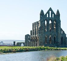 whitby abbey by photoeverywhere