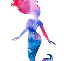 Mermaid by Watercolorsart
