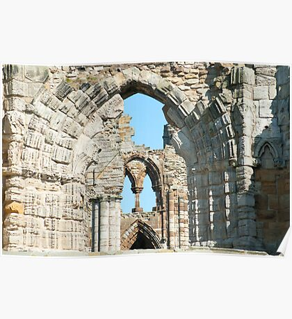 abbey ruins Poster