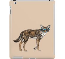 Cool Coyote with Sunglasses iPad Case/Skin