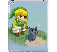 Link from the wind waker iPad Case/Skin
