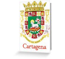 Cartagena Shield of Puerto Rico Greeting Card