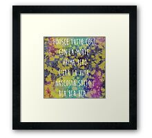The Great Beauty - Flower 1 Framed Print