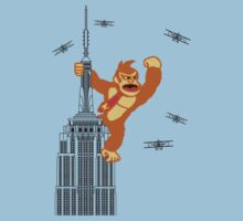 8-bit Kong by IdeaFilo