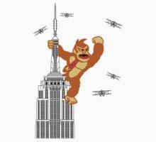 8-bit Kong One Piece - Long Sleeve