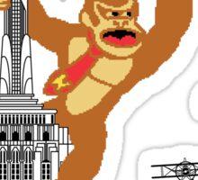 8-bit Kong Sticker