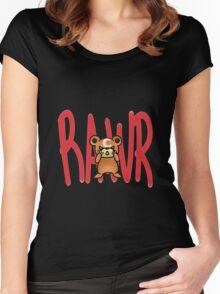 Teddiursa Women's Fitted Scoop T-Shirt