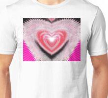 Shimmer Heart Unisex T-Shirt