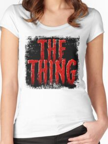 The Thing... Women's Fitted Scoop T-Shirt